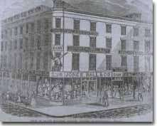 Boston YMCA circa 1850