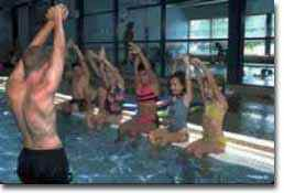 Swimming at a YMCA