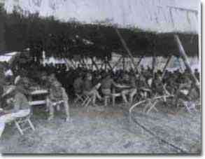 YMCA workers with American soliders in the Philippines during the Spanish American War